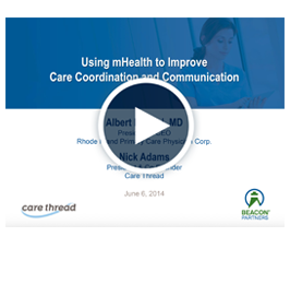 using mHealth to improve care coordination & communication video